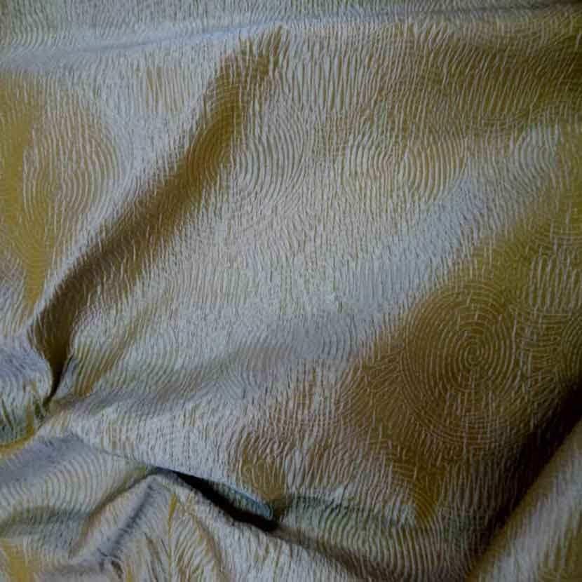 2 30m de soie 100 changeant faconne dore reflets bleu glacier9