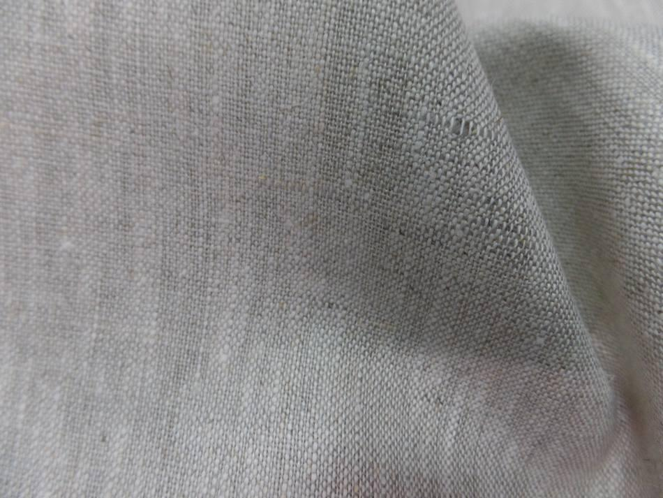 Achat tissu toile de lin 100 ton beige naturel chine en ligne