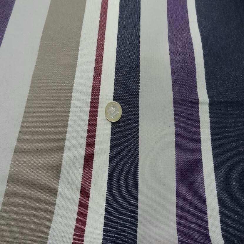 Bache beige raye bleu taupe blanc violet rouge2