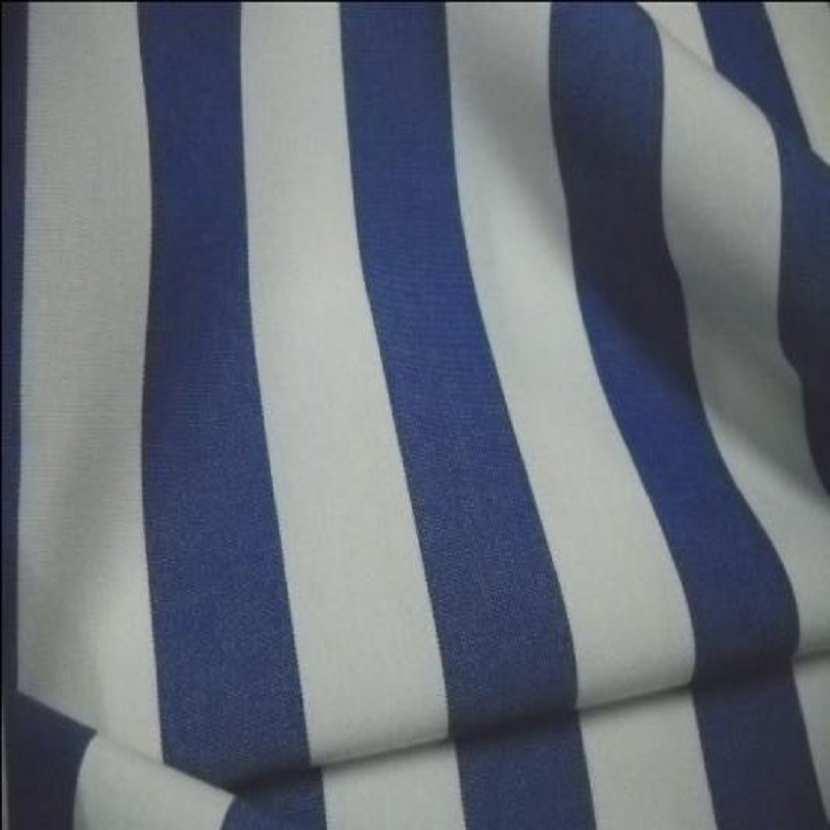 Bache raye blanc bleu 4 saisons en teflon