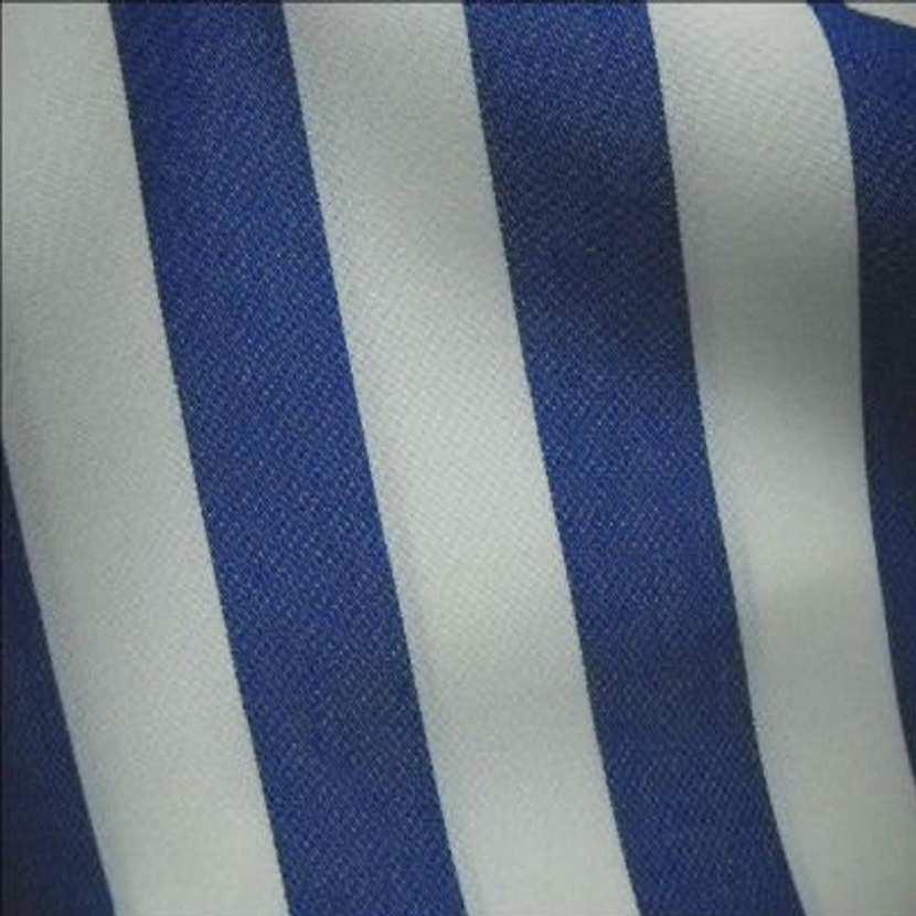 Bache raye blanc bleu 4 saisons en teflon0