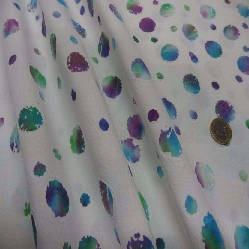 Batik blanc imprime des 2 faces2