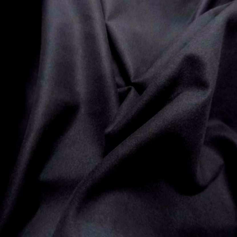 Beau lainage pour manteau noir4