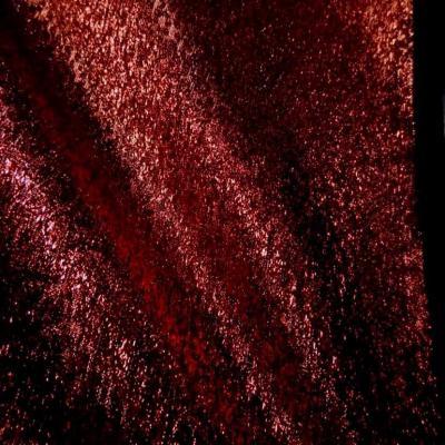 Belle qualite de tissu lame rouge