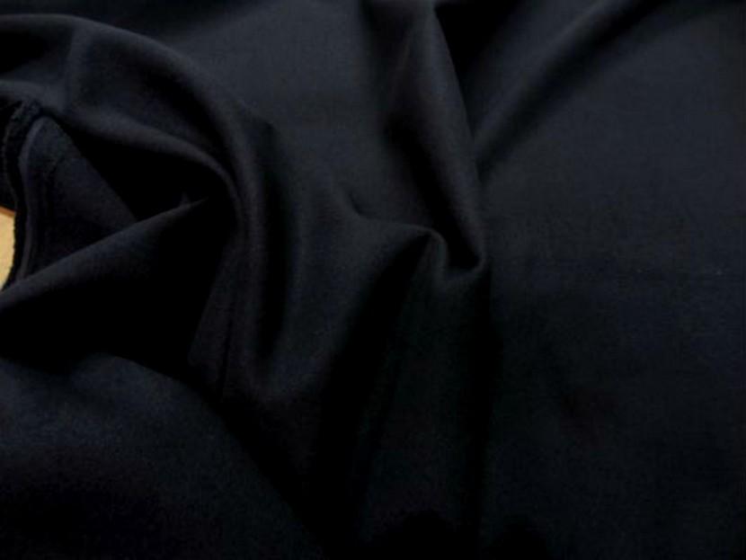 Caban imitation drap de laine noir 1