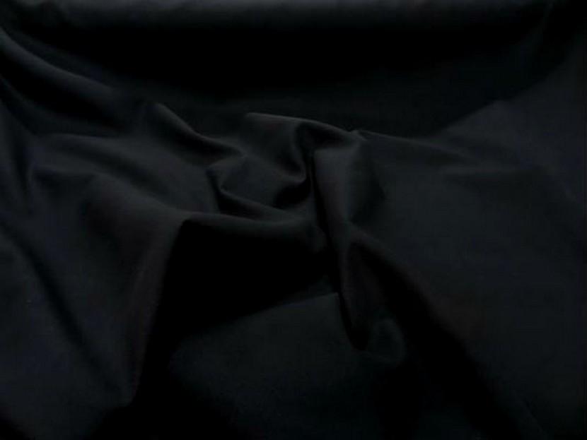 Caban imitation drap de laine noir 3