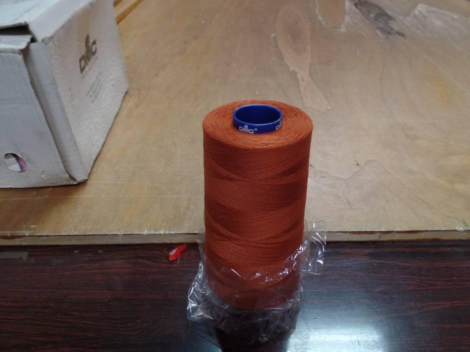 Cone de fil 5000 metres dmc couleur abricot 35 1074 4358