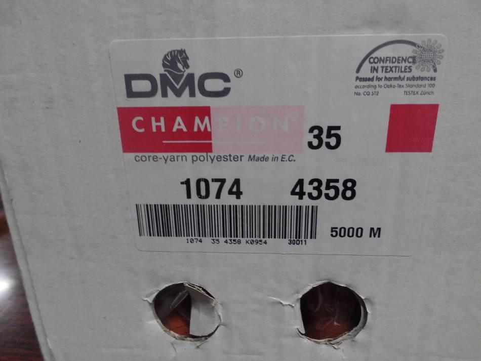 Cône de fil 5000 mètres DMC couleur abricot -35-1074-4358 vente Marseille
