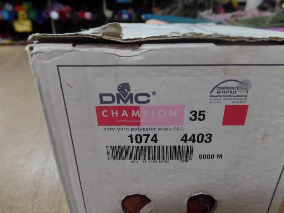 PAS CHER DMC Cône de fil 5000 mètres DMC couleur abricot -35-1074-4403
