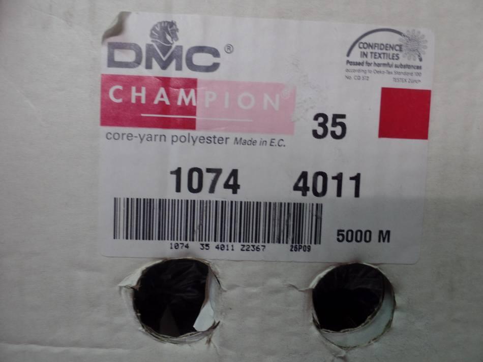vente de Cône de fil 5000 mètres DMC couleur bleu foncé 35-1074-4011