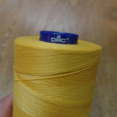 Cone de fil 5000 metres dmc couleur jaune soleil