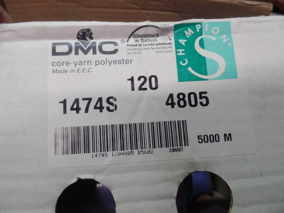 Cone de fil 5000 metres dmc couleur lavande 1474s 48052