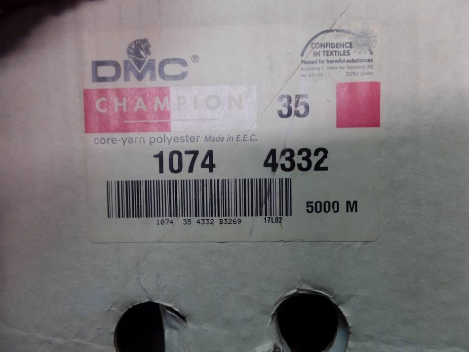 Cône de fil 5000 mètres DMC couleur marron 35-1074-4332.Marseille