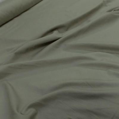 Coton 100 cretonne beige kaki en 1 45m de large