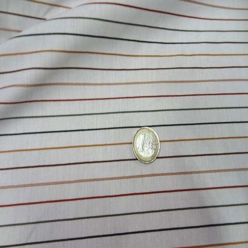 Coton blanc fin a rayures9