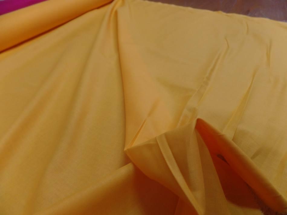 Coton cretonne jaune soleil9