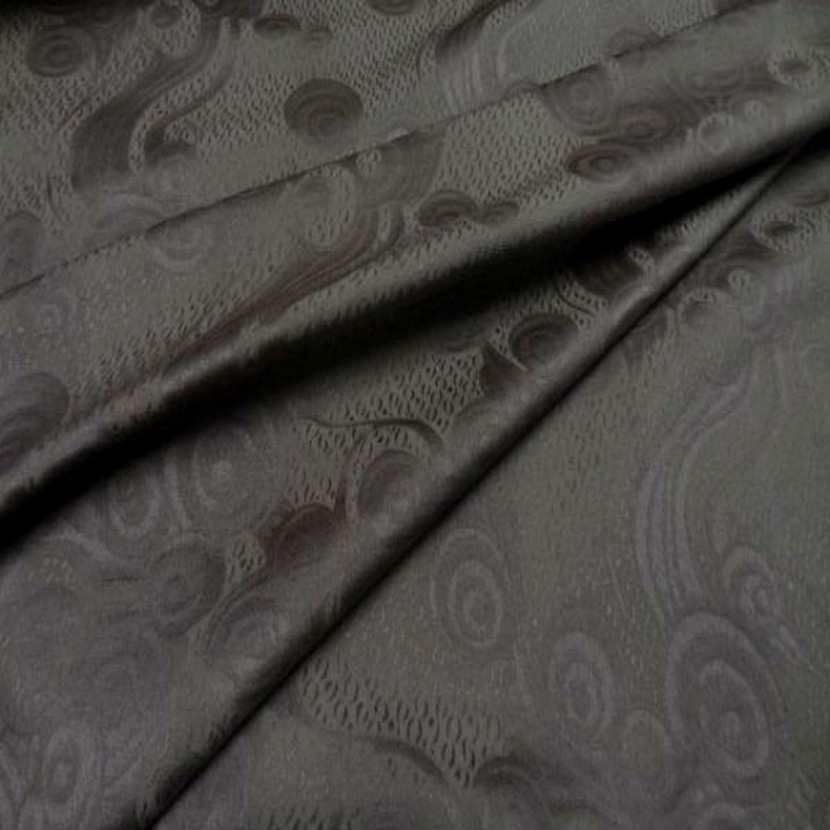 Coton faconne ton gris taupe