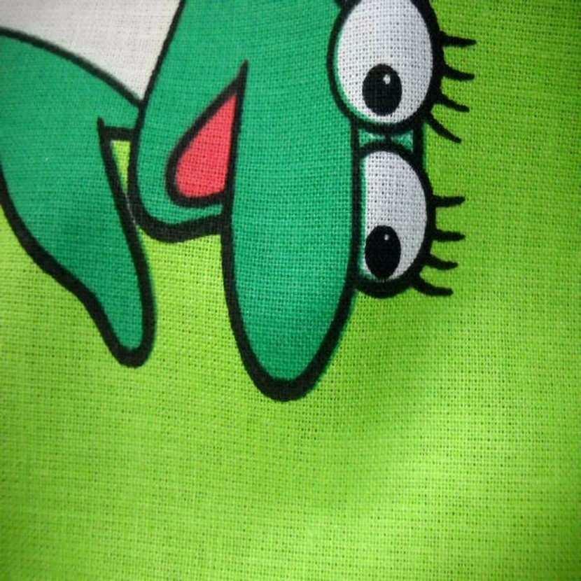 Coton imprime enfant vert dora l exploratrice5