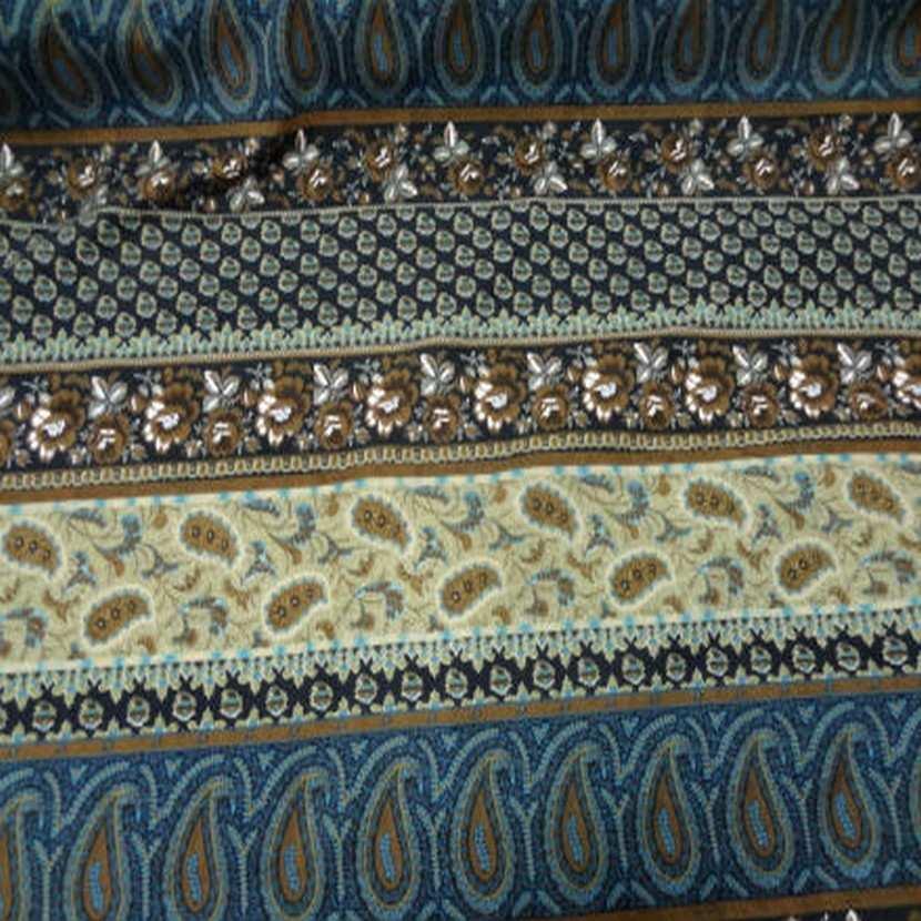 Coton imprime motifs fleurs cash mir8