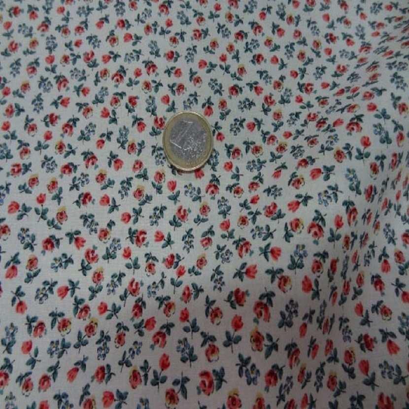 Coton imprime petite fleurs5