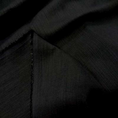 Coton lycra noir 1