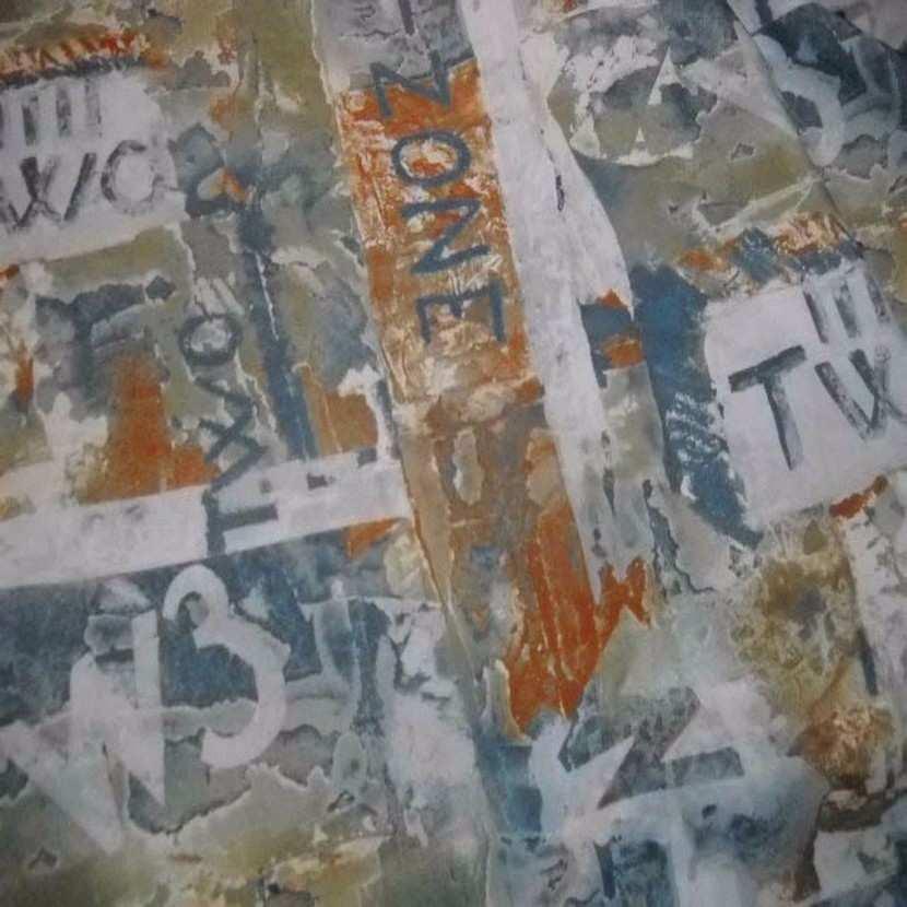 Coton melange imprime