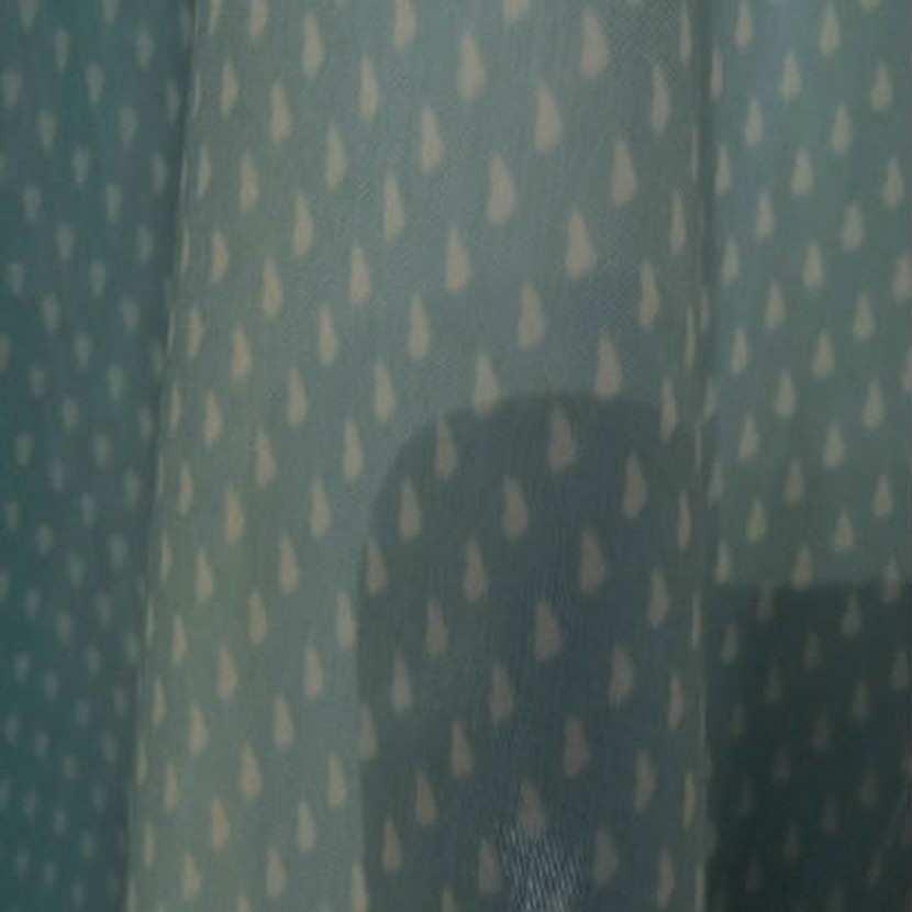 Coupon de 2 30 m de coton viscose opale motifs coeurs6