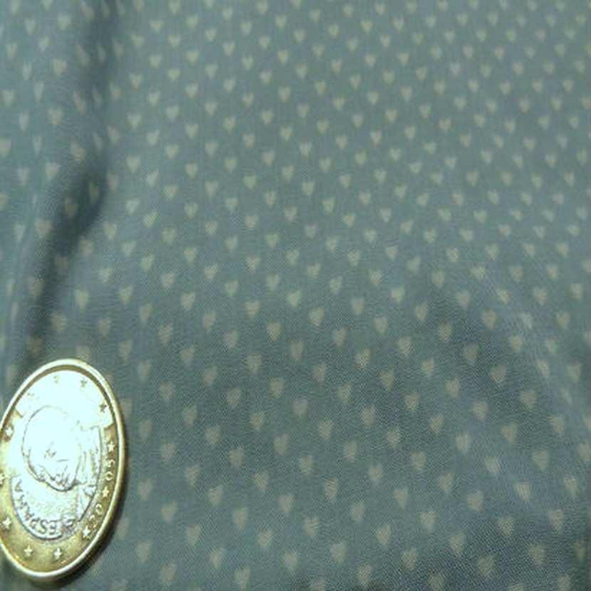Coupon de 2 30 m de coton viscose opale motifs coeurs8