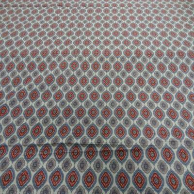 Coupon de coton fin imprime medaillon 3m