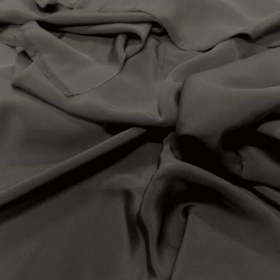 Coupon de crepe de soie kaki 1 50m
