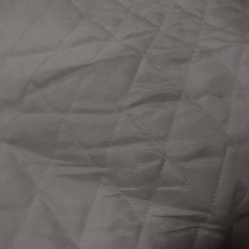 Coupon de doublure matelasse beige 1 20m