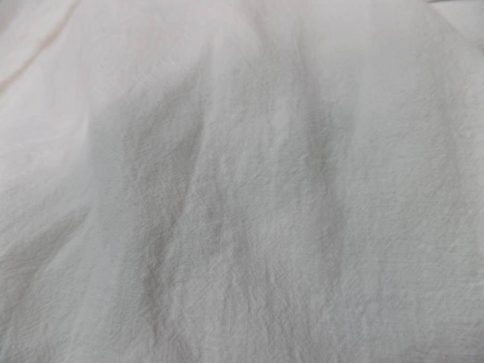 Coupon de lin lave blanc casse 2 95m0