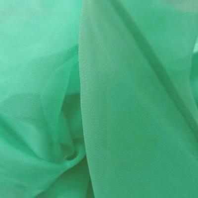 Coupon de mousseline de soie vert d eau4