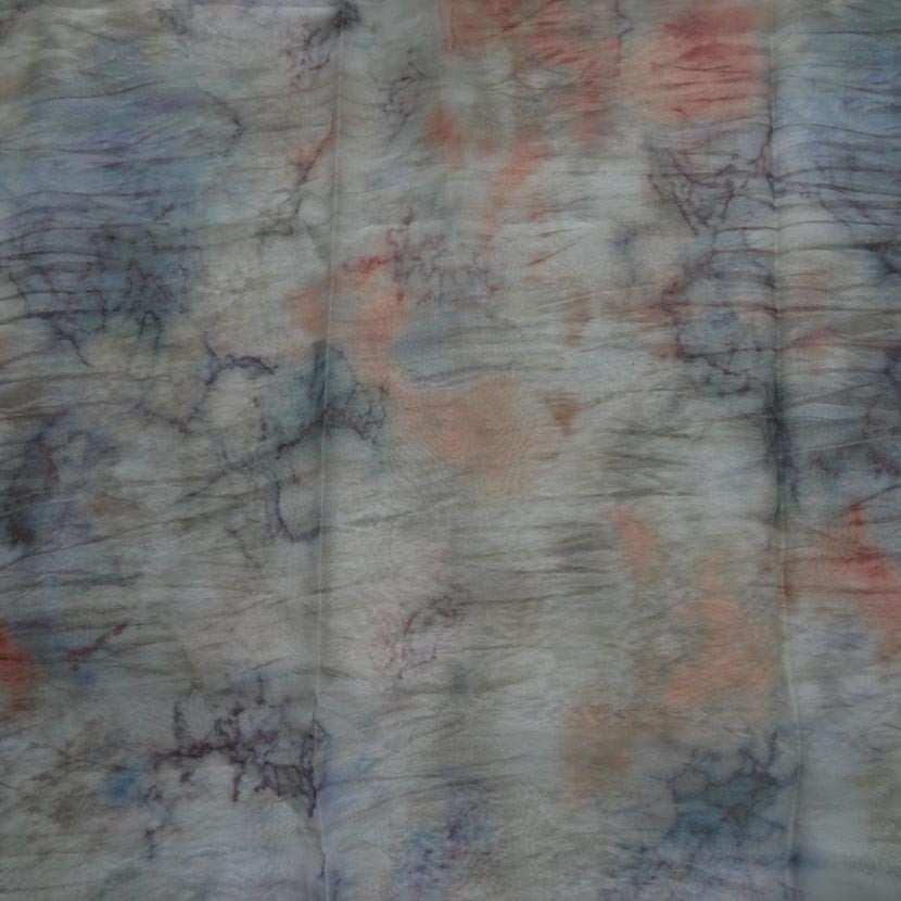 Coupon de mousseline polyester imprime 1 80m4