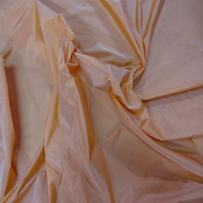 Coupon de taffetas orange 1m