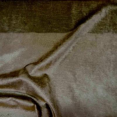Coupon de velours coton pour l ameublement ton dore 2 4m7