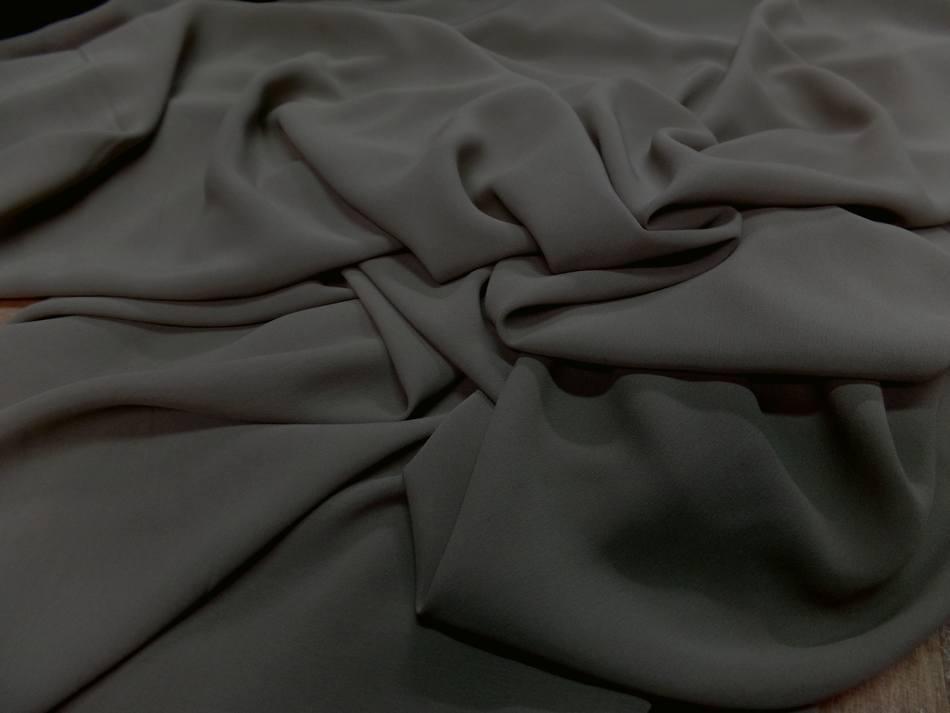 Crepe de soie kaki