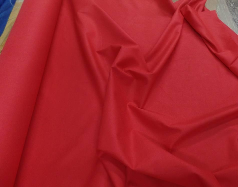 Cretonne rouge en 2 80m de large
