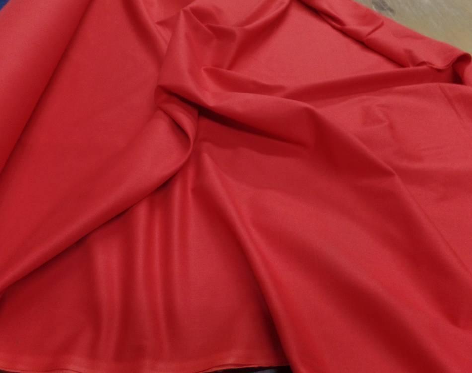 Cretonne rouge en 2 80m de large2