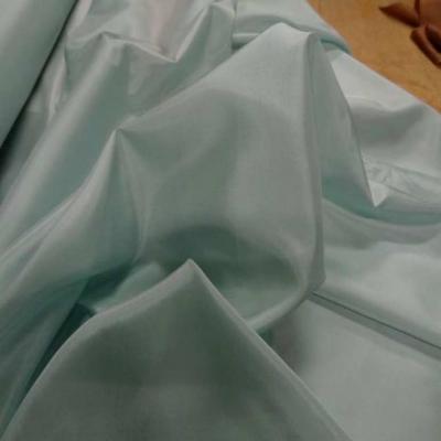 Doublure antistatique vert lagon