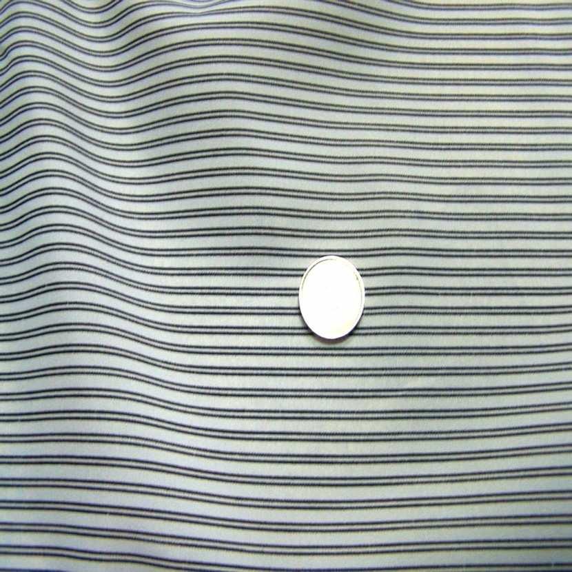 Doublure blanche raye noir4