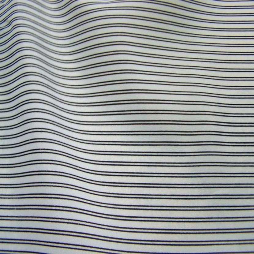 Doublure blanche raye noir6