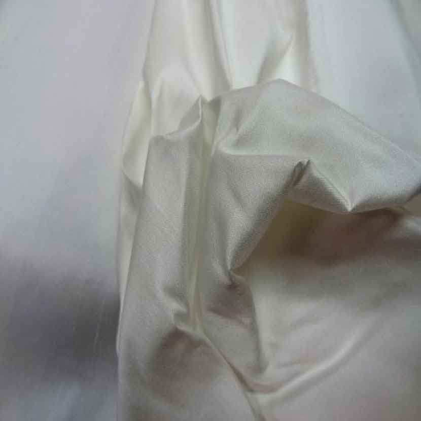 Dupions de soie ivoire 100 soie6