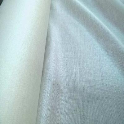 Entoilage de renfort thermocollant blanc