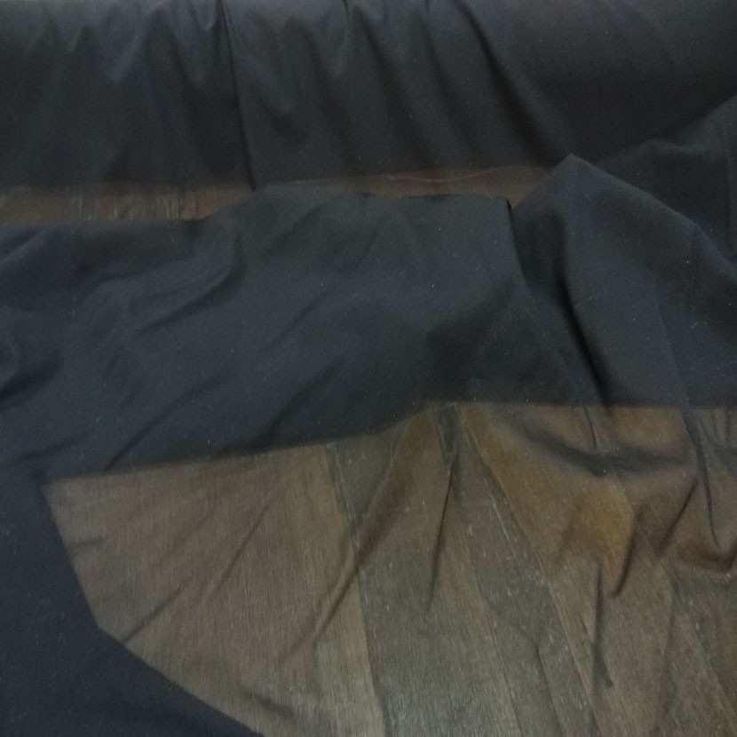 Entoilage de renfort thermocollant noir en lycra