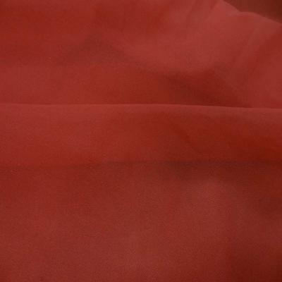 Entoilage de renfort thermocollant rouge vermillon en lycra