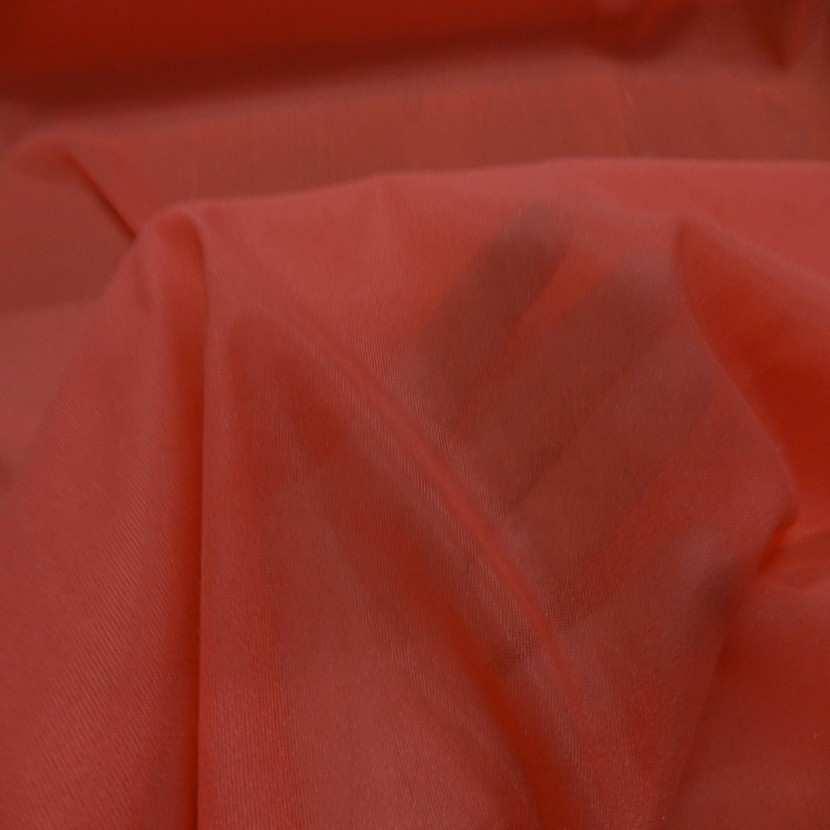 Entoilage de renfort thermocollant rouge vermillon en lycra0