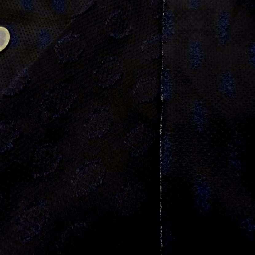 Faconne fin noir en polyamide et soie brode8