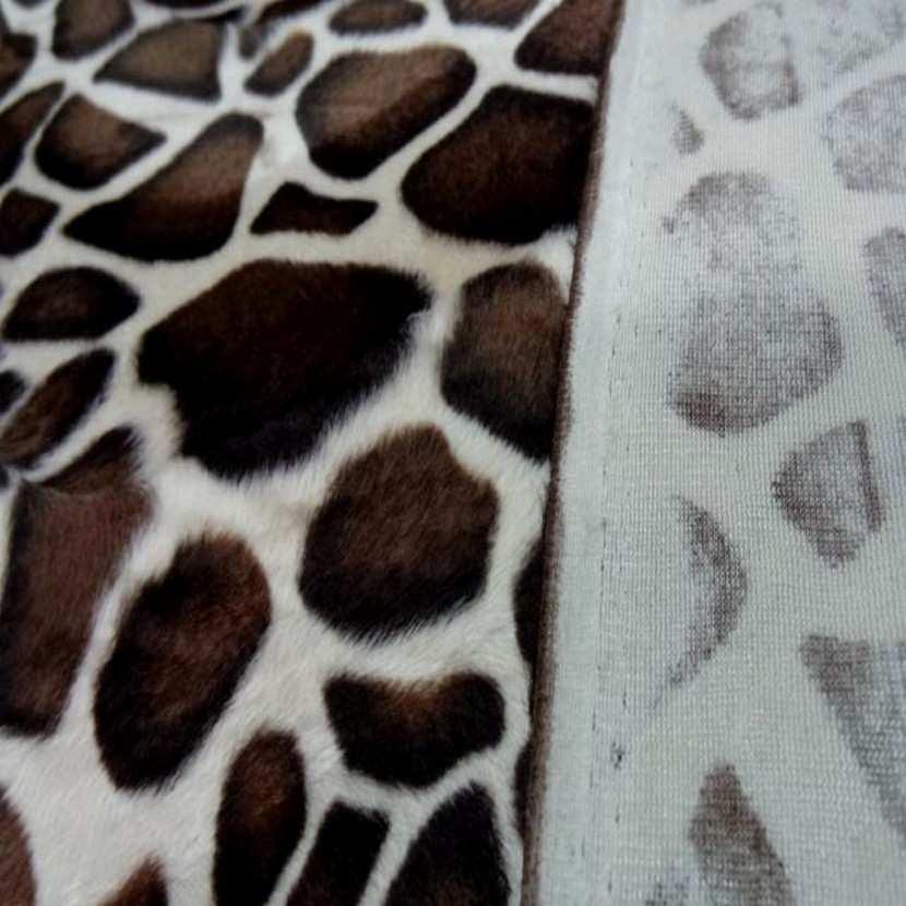 Fausse fourrure girafe26
