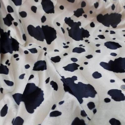 Fausse fourrure imprime vache